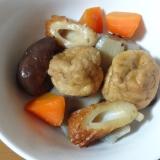 がんもと根菜の煮物