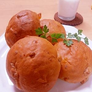 りんごとクルミのパン(ホームベーカリー)