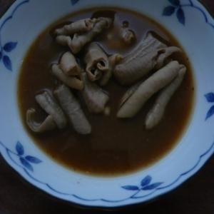 献立いろいろ味噌で調理は簡単!豚もつのみそ煮