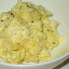 新玉葱とジャガイモのマヨサラダ