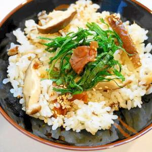 簡単で栄養満点!サバ缶と梅干しの炊き込みご飯