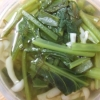 小松菜ともずくのスープ