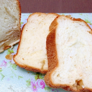 ホームベーカリーで☆基本の食パン