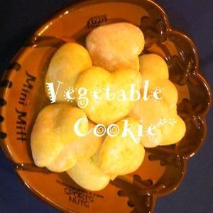 かぼちゃDEサクサク♡鮮やかクッキー♡