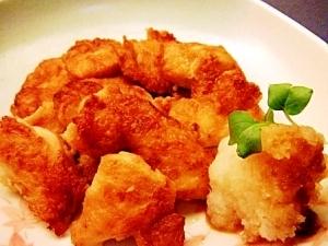 鶏むね肉の揚げ焼き✿おろし添え