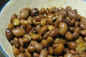 簡単おつまみに♪いんげん豆と生姜のソテー