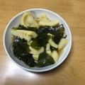 春の香りの煮物・たけのこ(筍)とワカメの若竹煮!