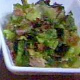 サニーレタスサラダ