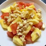 カシューナッツ入とパインのトマトサラダ