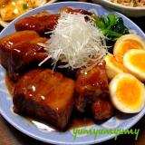 豚の角煮です☆ほろっ♪とろっ♪白飯おかわり必須w♪