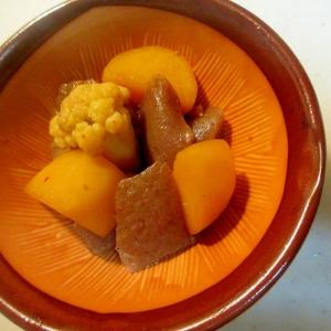 レンジで作るジャガイモの煮物