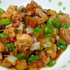 鶏肉のピリ辛☆中華炒め