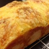 手作り!新玉ねぎ入りチーズのせ食パン