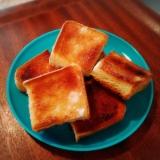 温度と時間がポイント★5枚切り食パンで厚切りラスク
