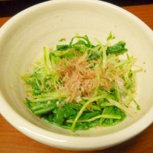 水菜のポン酢ナムル