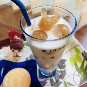 おうちカフェ9弾!ミルクから変身♡氷ミルクティー