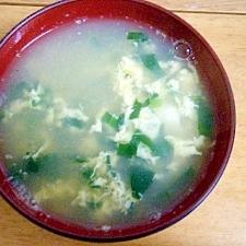 めんつゆで簡単☆卵スープ