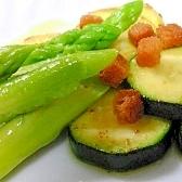 オリーブオイルの焼き野菜
