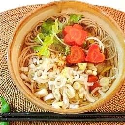 柚子風味の鴨南蛮蕎麦