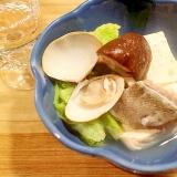 湯豆腐+鱈ちり+お吸い物のあたたかお鍋