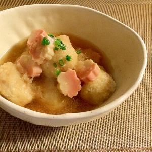 おばんざい☆もっちり里芋と生麩の揚げ浸し