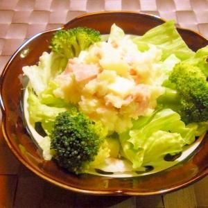 ハムチーズポテトのサラダ