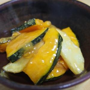 南瓜とジャガイモの揚げ煮