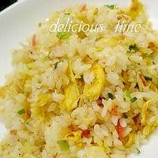 パラパラ♪卵と桜海老のチャーハン。