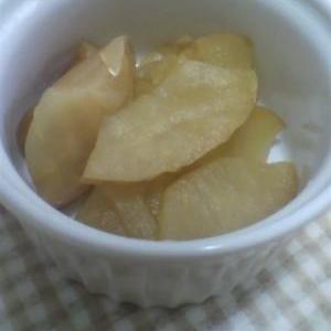 リンゴのメープルシロップ煮