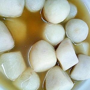 冷凍サトイモの煮物
