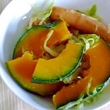 優しいお味の カボチャの温野菜