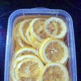 手作りはちみつレモン