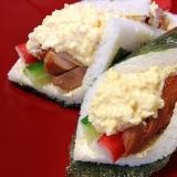 サンドイッチパンde☆恵方巻き