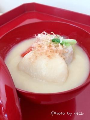 京都伝統料理 〜白味噌のお雑煮〜