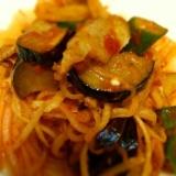 大根麺のトマトソースパスタ風