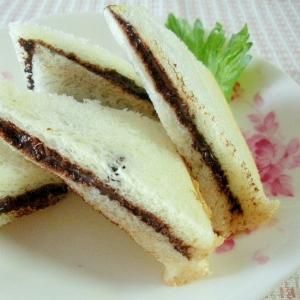 ダブルココアで簡単♡おやつサンドイッチ♡