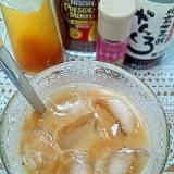 アイス☆シナモンジンジャー黒酢カフェオレ♪