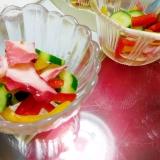 梅酢タコとパプリカのピクルス