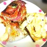 ʚ♡ɞフライパンで鯛の兜焼きʚ♡ɞ