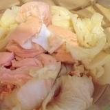 鍋1つで簡単に☆キングサーモンの野菜蒸し