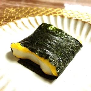 1分で簡単美味しい海苔もちチーズ