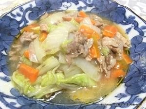 フライパン一つで白菜が沢山食べられる和風あんかけ