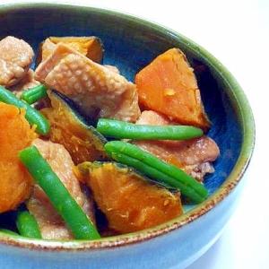 鶏かぼちゃの煮物