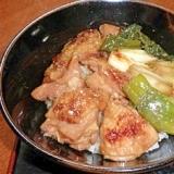 フライパンで作る簡単焼き鳥丼