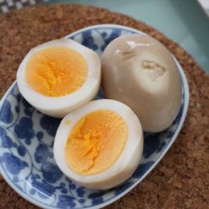 おつまみに1品! めんつゆ卵
