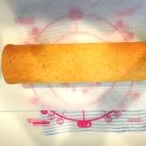 チーズクリーム入り☆米粉シフォンロールケーキ