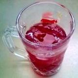 暑い夏に★りんご酢とブルーベリーでドリンク