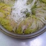 ポン酢でいただく!白菜と豚バラdeミルフィーユ鍋♪