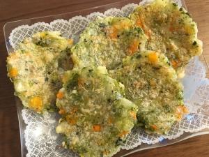 離乳食☆野菜たっぷりおやき