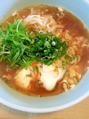 さくっと☆水菜のラーメン